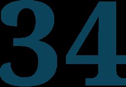 34 en chiffre